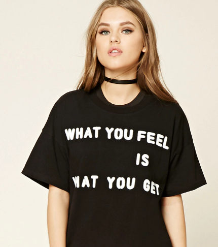 what you feel