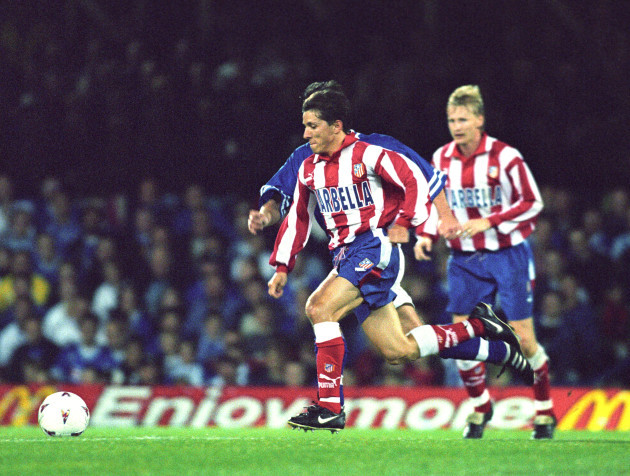 UEFA Cup First Round Second Leg - Leicester City v Atletico Madrid