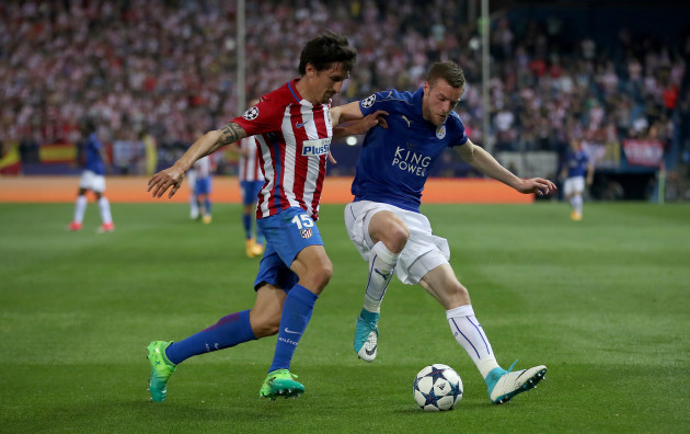 Atletico Madrid v Leicester City - UEFA Champions League  - Quarter Final - First Leg - Vicente Calderon Stadium