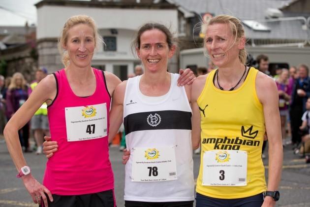 Catherina McKiernan, Barbara Cleary and Maria McCambridge