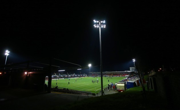 A view of Turner's Cross ahead of the game