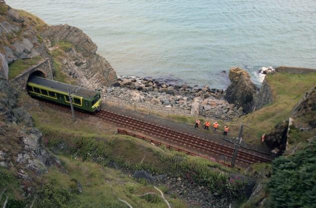 Dart train derailment