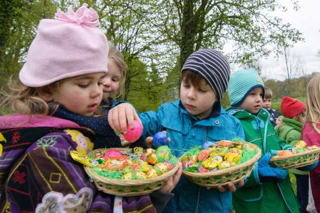 Easter egg search in Weimar