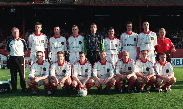 Cork City FAI Cup Champions 16/5/1998