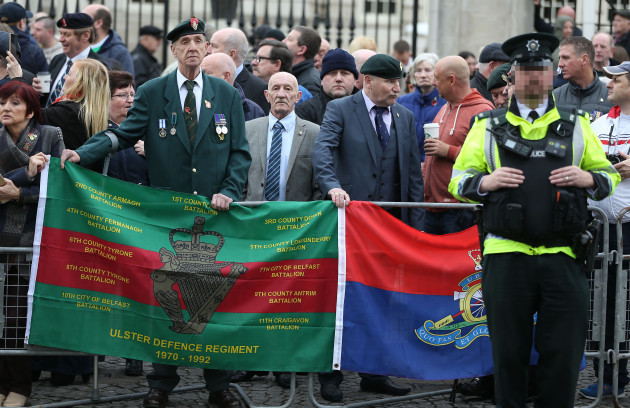 Justice for Northern Ireland Veterans protest