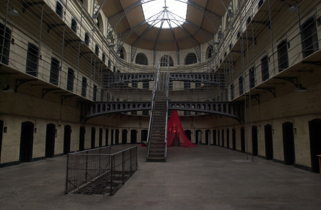 KILMAINHAM GAOL TOURIST ATTRACTIONS JAILS PRISON CELLS