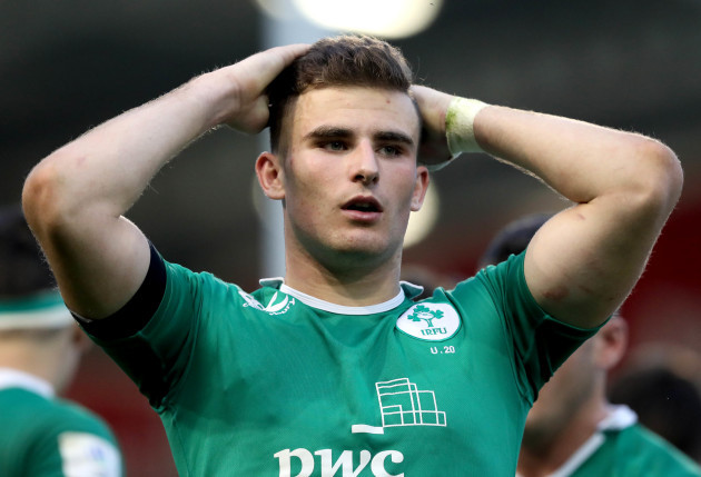 Shane Daly dejected