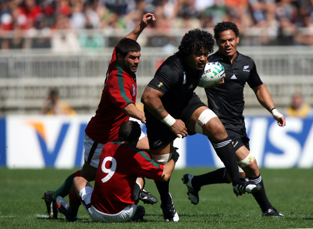 Rugby Union - IRB Rugby World Cup 2007 - Pool C - New Zealand v Portugal - Stade Gerland
