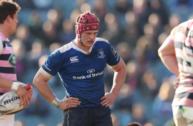 Leinster's Josh van der Flier