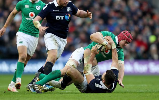 Ireland's Josh Van der Flier
