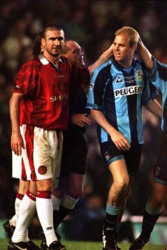 Soccer ... David Busst Testimonial ... Coventry City v Manchester United