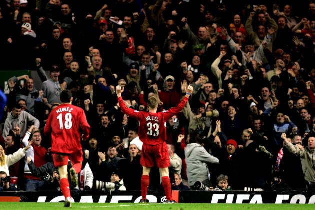 Soccer - FA Barclays Premiership - Liverpool v Arsenal