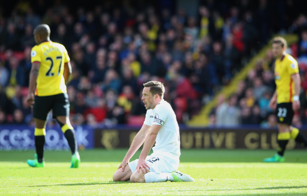 Watford v Swansea City - Premier League - Vicarage Road
