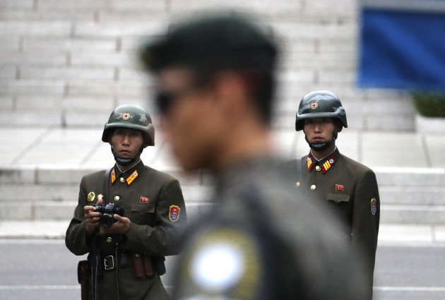 South Korea US Pence Korea
