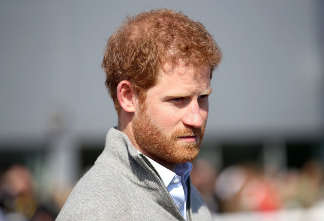 Harry reveals grief over mother's death