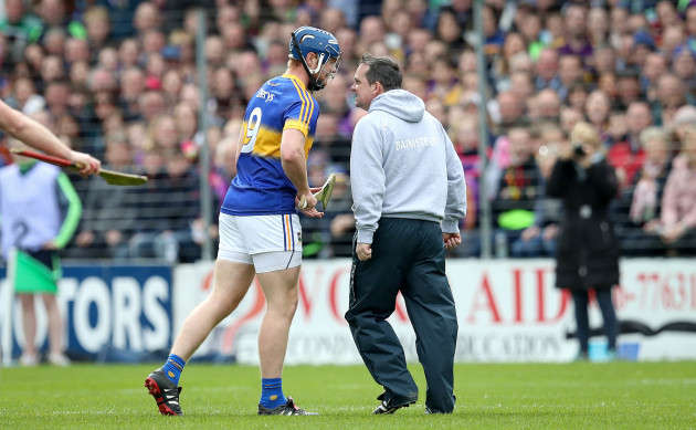 Davy Fitzgerald clashes with Jason Forde