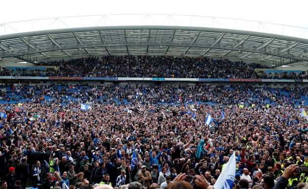 Brighton and Hove Albion v Wigan Athletic - Sky Bet Championship - AMEX Stadium