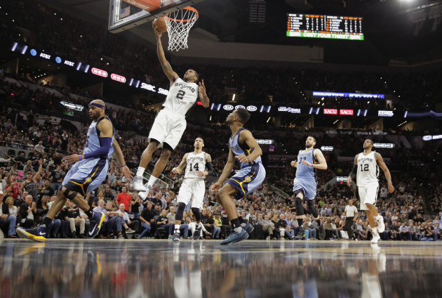Grizzlies Spurs Basketball
