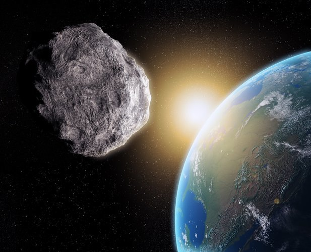 biggest asteroid in the solar system collided with earth - photo #3