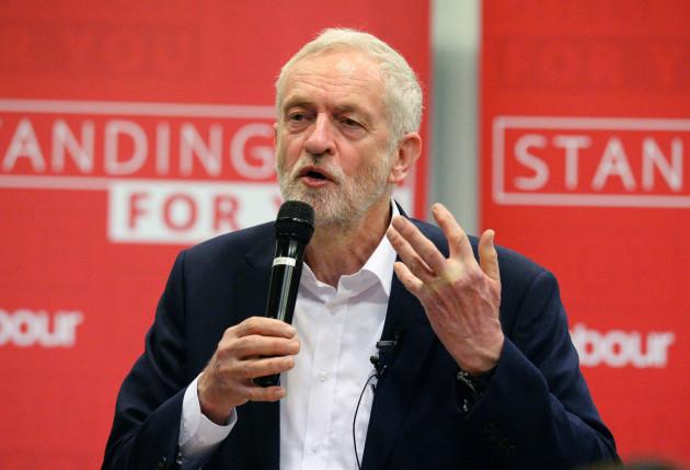 Jeremy Corbyn visit to Birmingham