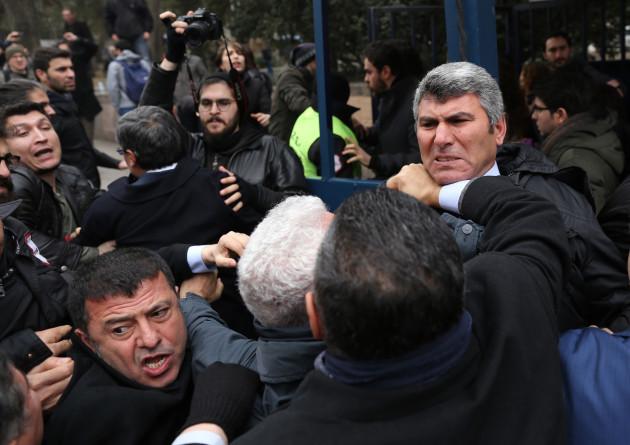 Turkey Protest - Ankara