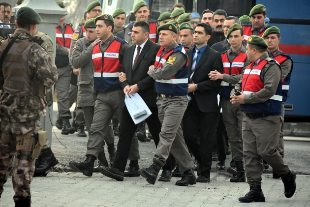 Soldiers Involved In The Failed Coup At Court - Turkey