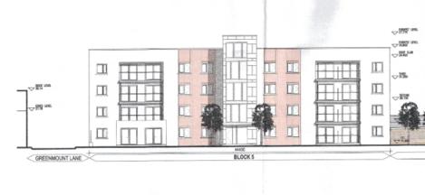 apartment block sketch