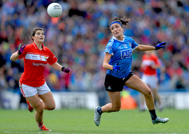 Marie Ambrose with Niamh McEvoy