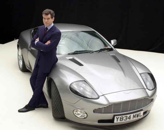 Bond 20 photocall at Pinewood Studios