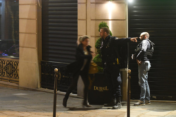 Suspect wanted in wake of Paris shooting hands himself in to Belgian