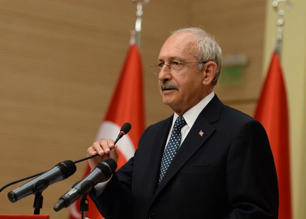 Main Opposition Party Leader Kilicdaroglu - Turkey Referendum