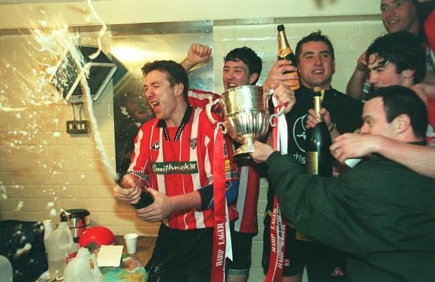 Liam Coyle Derry City 19/4/1997