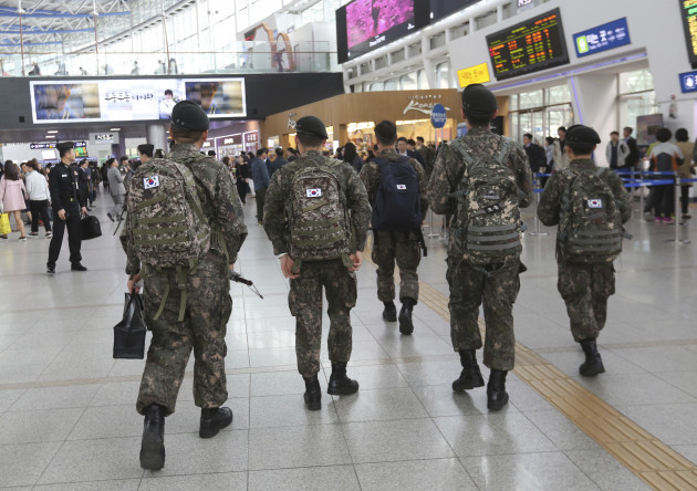 South Korea Gay Soldiers