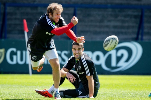 Duncan Williams and Conor Murray