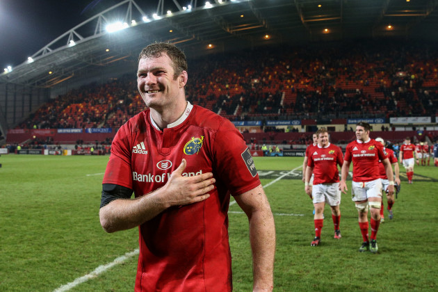 Donnacha Ryan after the game