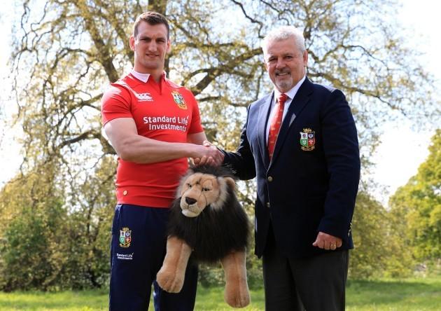 British and Irish Lions Squad Announcement - Hilton London Syon Park