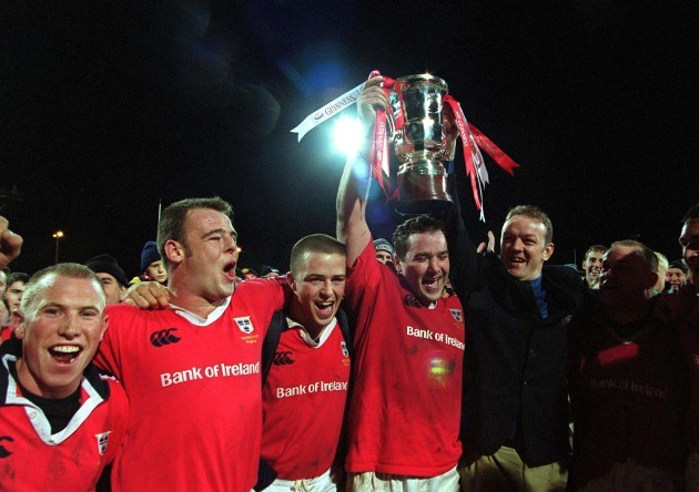 Anthony Foley and Mick Galwey
