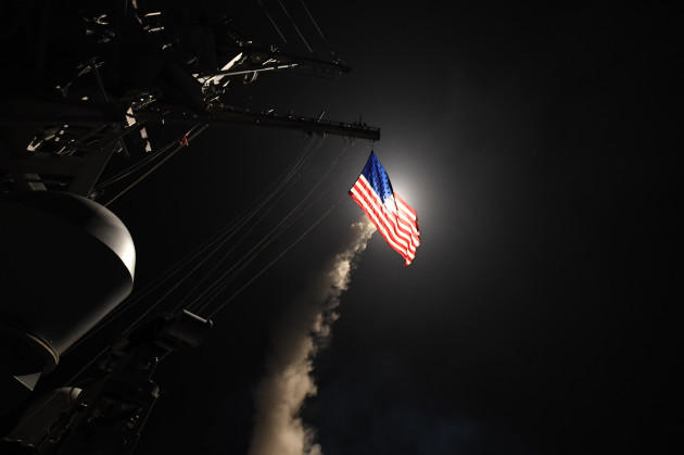 US Launches Missile Strikes Against Syria
