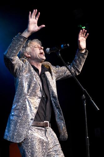 The Boomtown Rats in concert - Birmingham