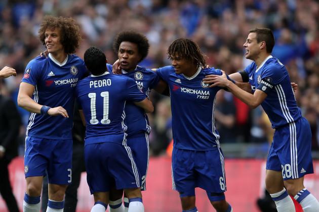 Chelsea v Tottenham Hotspur - Emirates FA Cup - Semi Final - Wembley Stadium