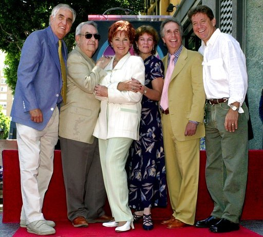 Garry Marshall, Tom Bosley, Marion Ross, Erin Moran, Henry Winkler, Anson Williams