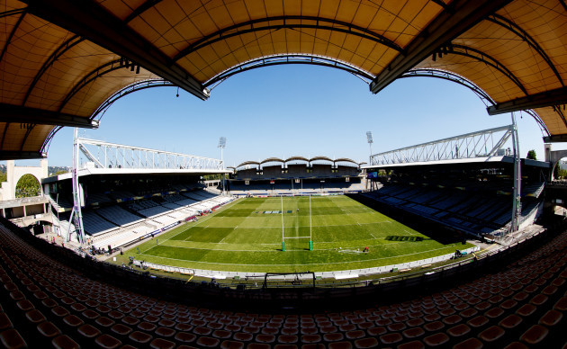 A view of Stade de Gerland, Lyon
