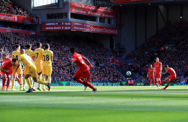 Liverpool v Crystal Palace - Premier League - Anfield