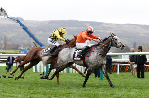 Labaik ridden by Jack Kennedy comes home to win