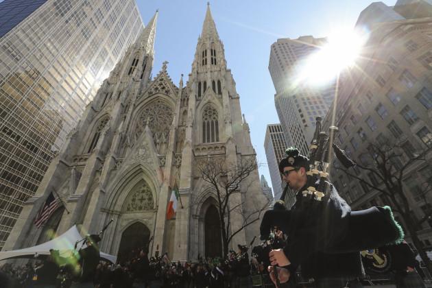 U.S.-NEW YORK-ST. PATRICK'S DAY-PARADE