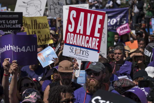 CA: Save the Affordable Care Act rally in Los Angeles