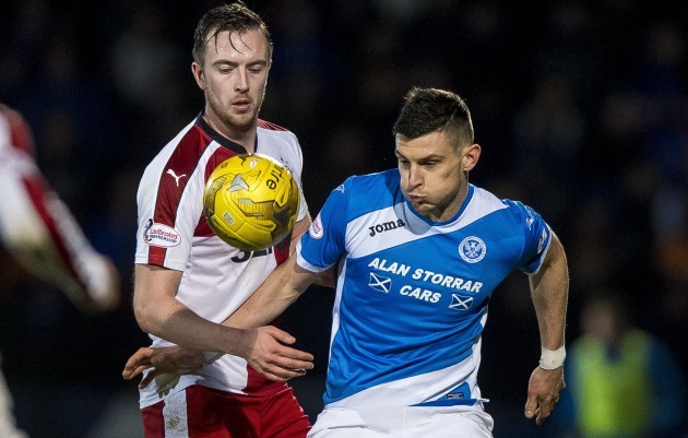 St Johnstone v Rangers - Ladbrokes Scottish Premiership - McDiarmid Park