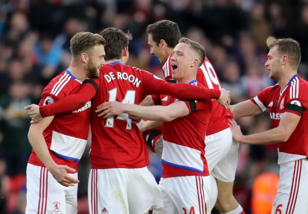 Middlesbrough v Sunderland - Premier League - Riverside Stadium