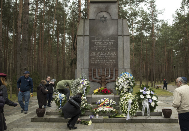 Lithuania Holocaust Remembrance
