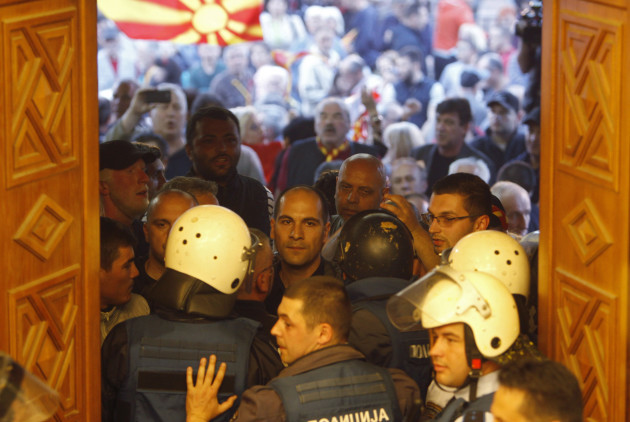 Macedonia Political Crisis